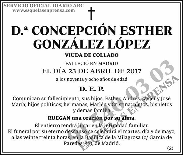 Concepción Esther González López